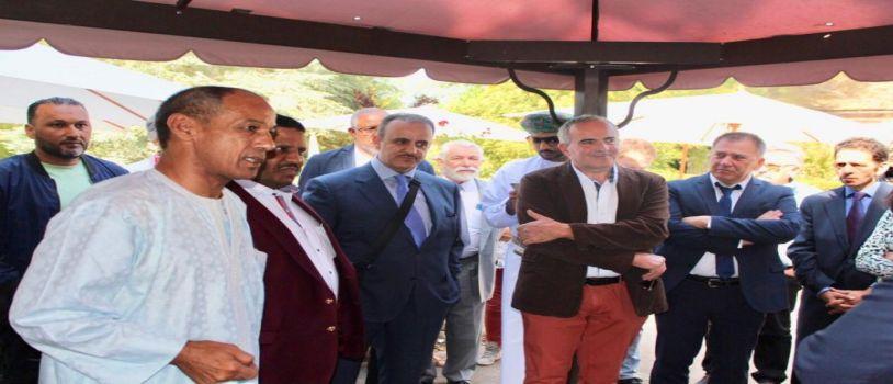 في فرنسا وبرعاية المنظمة الدولية للإبل إختتام مهرجان أوروبا الدولي الأول للإبل