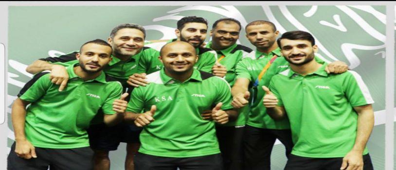 المنتخب السعودي لكرة الطاولة يقفز في التصنيف العالمي للمرتبة 44