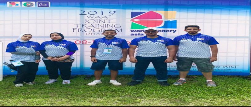 مدربين و أربعة لاعبين للسهام في بنجلاديش