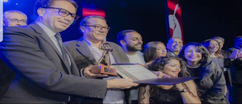 الطوق والاسورة يفوز بجائزة افضل عرض مسرحي فى مهرجان ايام قرطاج