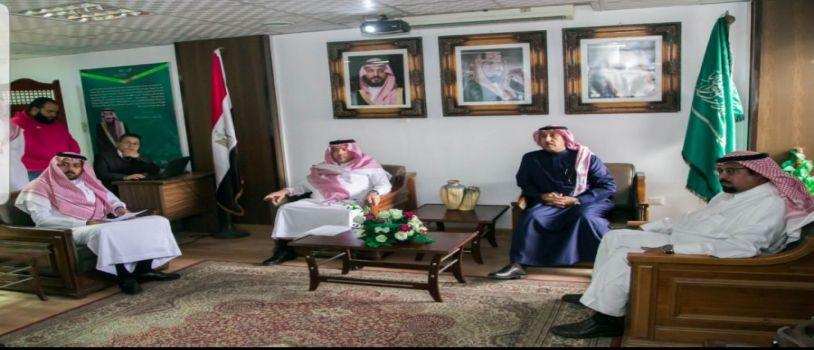 نائب وزير التعليم  السعودي يتفقد سير العمل بالملحقية الثقافية